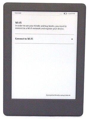 "Amazon Kindle 8th Gen Glare Free Model SY69JL, 6"" WiFi Touchscreen Black (MEZZ)"