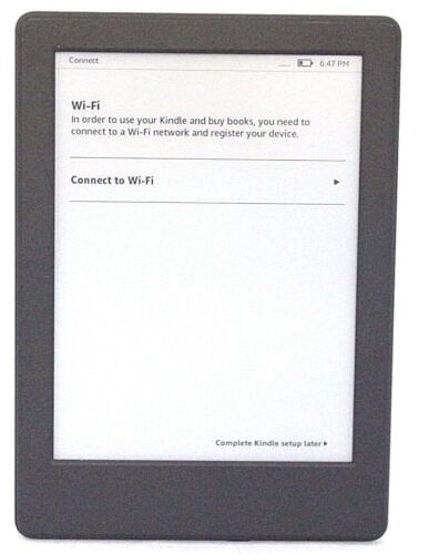 "Amazon Kindle 8th Gen Model SY69JL, 6"" WiFi, 4GB,Touchscreen 49-3A"