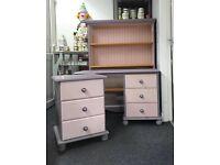 Bedside Drawers - Bookcase - Desk/ dressing table Children's