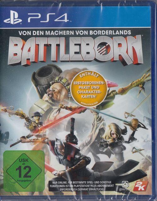 Battleborn - PS4 / Sony Playstation 4 - Neu & OVP - Deutsche Version + Bonus!