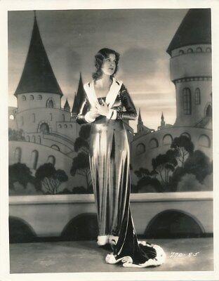 JEANETTE MACDONALD Original Vintage 1930 VAGABOND KING Hommel Portrait Photo
