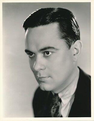 JOHN ELDREDGE Original Vintage 1930s WELBOURNE Warner Bros Studio Portrait Photo