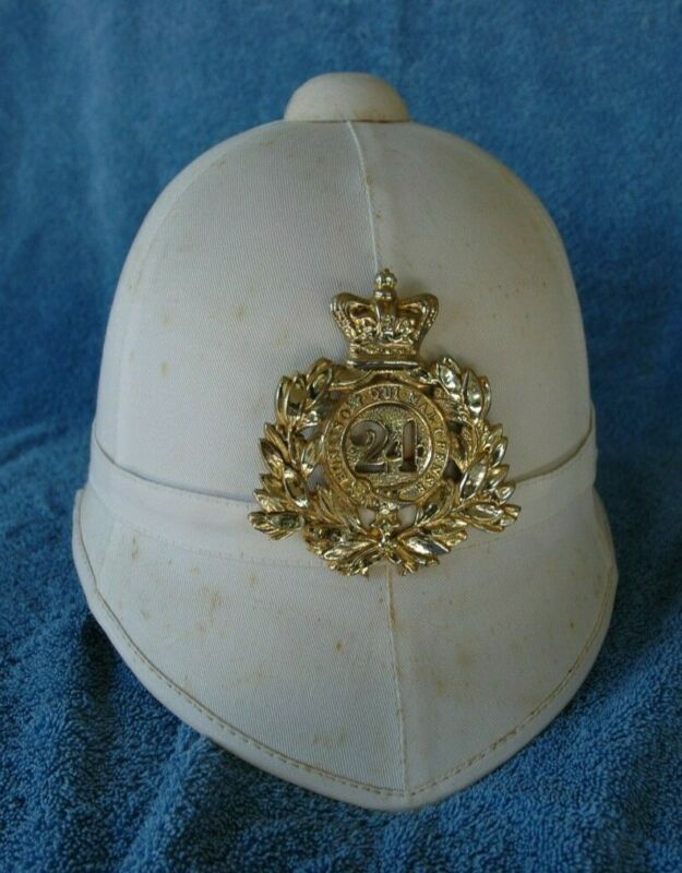 British foreign service helmet, Zulu war, 24th of foot, High-end reproduction