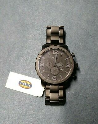 Fossil Nate Chronograph JR1401 Wrist Watch for Men NEW