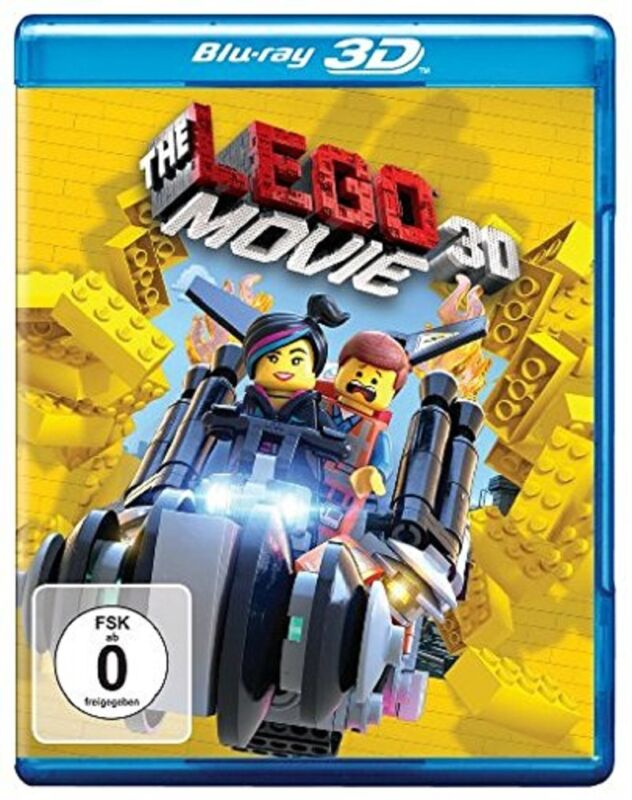 3D Blu-ray * The LEGO Movie * NEU OVP * (der Film, Kinofilm)