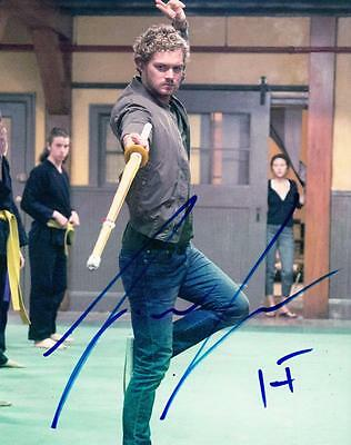 FINN JONES IRON FIST MARVEL SIGNED 8X10 PHOTO AUTHENTIC AUTOGRAPH NETFLIX COA A
