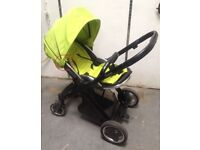 OYSTER PUSHCHAIR PRAM APPLE GREEN COLOUR PACK