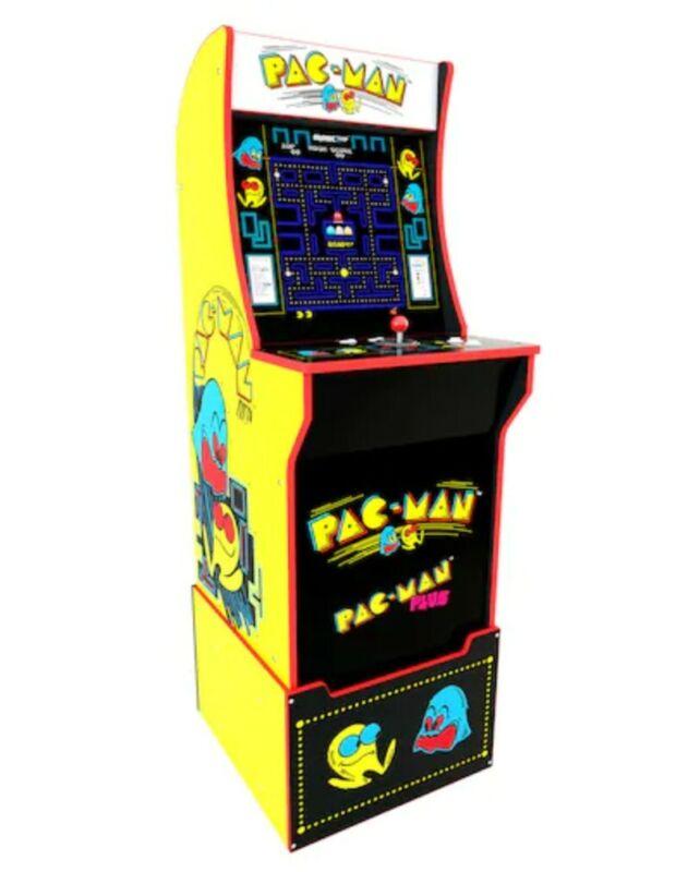 Arcade1Up Pac-Man Arcade Machine with Custom Riser (BRAND NEW IN ORIGINAL BOX)