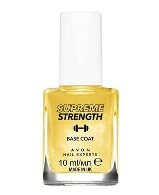 Avon Nail Experts Supreme Strength Base Coat ~ 10ml ~ (Formerly Gold Strength)