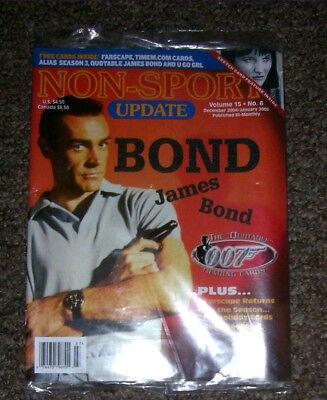 NON-SPORT UPDATE VOL 15 NO 6 DEC 2004 - JAN 2005 Quotable James Bond