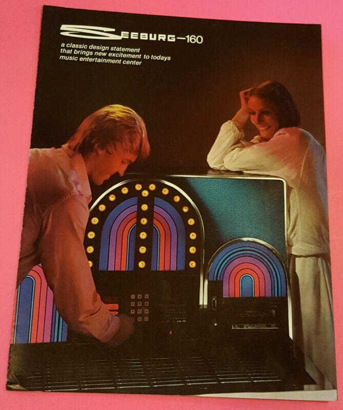 Seeburg-160 Jukebox Original Promo Sales Flyer Brochure  81-56415