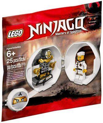Brand New LEGO Ninjago Masters of Spinjitzu Zane's Kendo Training Pod 5005230