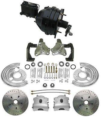 1966-70 Mopar Performance Disc Brakes & OE Bendix Style Brake Booster - Mopar Disc Brakes