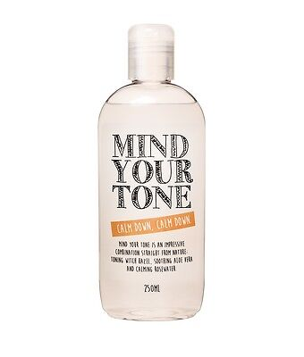 Mind Your Tone - Witch Hazel, Aloe Vera and Rosewater Toner - 250ml - whytheface