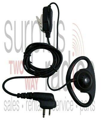 Motorola D-ring Headset Ptt Cp150 Cp200 Rdu4100 Rdx Ct250 Ct450 Gp300 Dtr Xtn