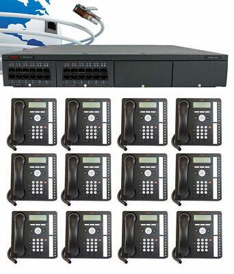 Avaya Ip Office - Ip500 V2 Digital Phone System Package W12 1416 Phones New