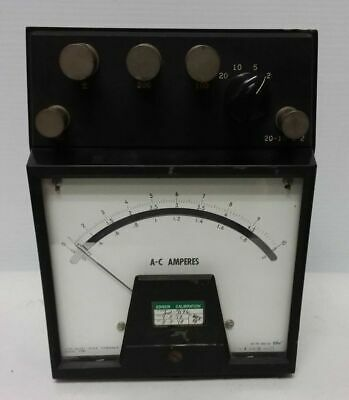 Westinghouse A-c Volts Meter Type Pa-151