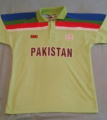 Pakistan Cricket Shirt 1992 World Cup size Large