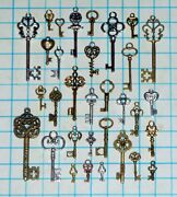 Vintage Skeleton Keys Lot