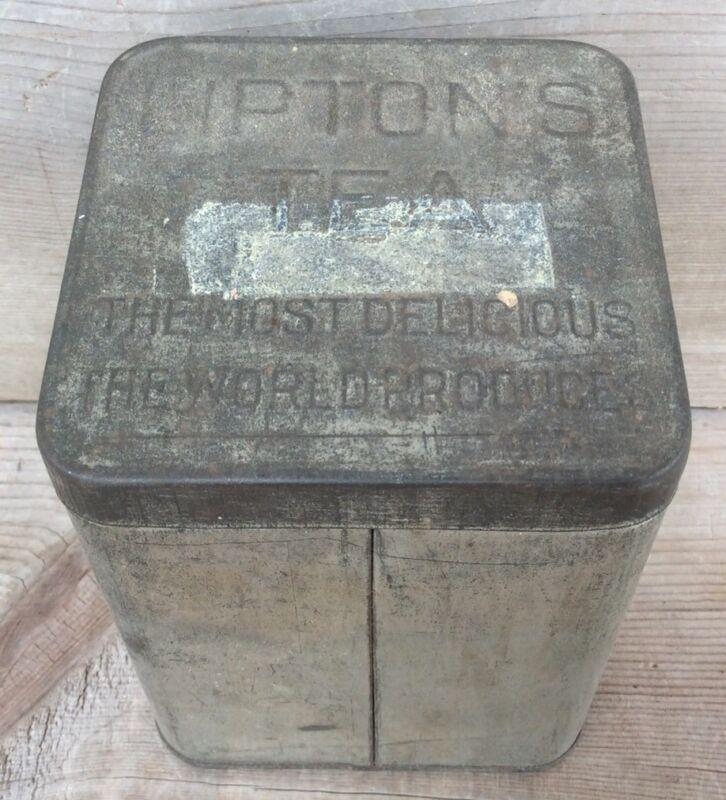 Vintage Lipton's Tea Tin