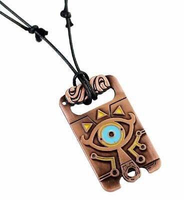 Legend of Zelda Breath Of The Wild Sheikah Eye Dog Tag Metal Pendant Necklace - Zelda The Dog
