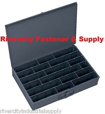 Large Metal Adjustable Hole Bin Tray For Nuts Bolts