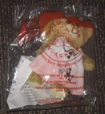 2006 Build A Bear McDonalds Happy Meal Toy - Read Teddy In Poodle Outfit #4](Toy Poodle Outfits)