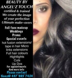 BEAUTY BY ANGEL'Z TOUCH HAIR STYLIST&MAKEUP ARTIST @437~985~7424