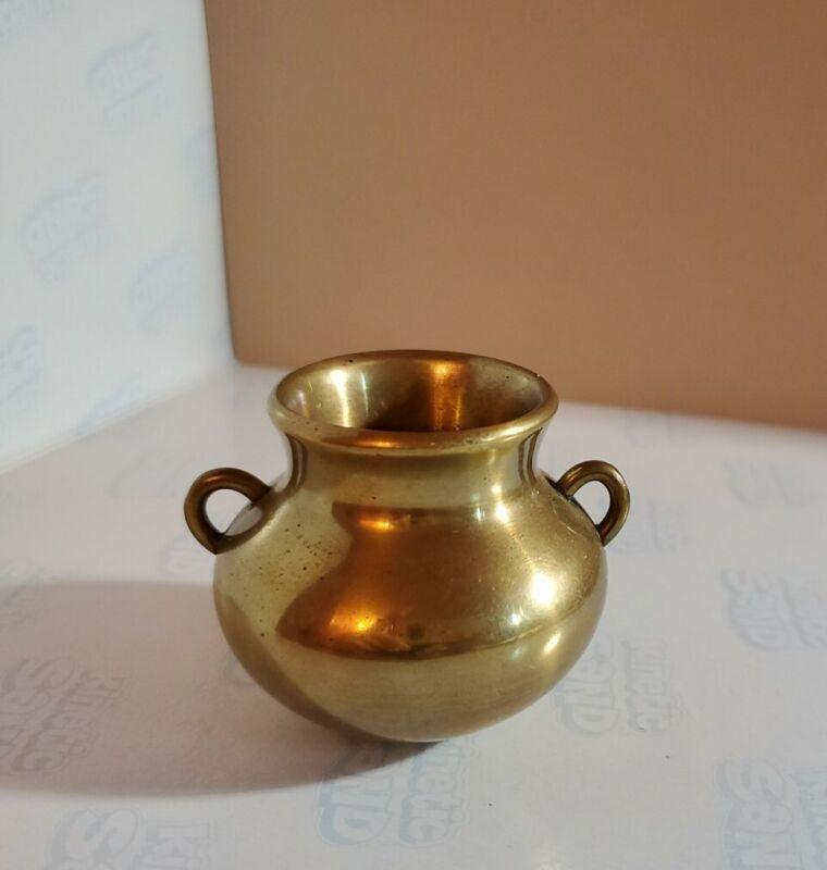 Pickard China Porcelain Antique Etched Gold Floral Lidded vase Bowl
