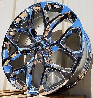 22  Gmc Sierra Chrome Yukon Denali Wheels Rims Ck156 2014 2015 2016 2017 2018