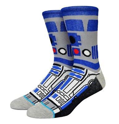 Star Wars R2d2 Character 360 Crew Socks