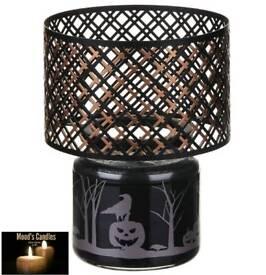 Halloween yankee candle metal lamps