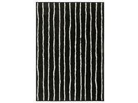 GÖRLÖSE IKEA black & White rug - barely used
