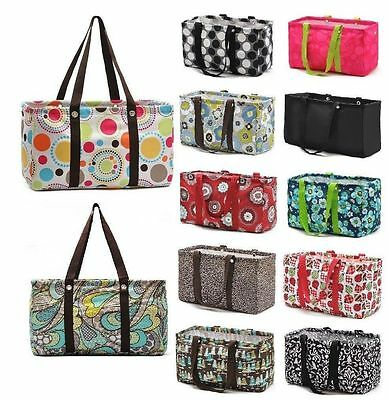 Gift Bag Organizer (Defect LARGE UTILITY TOTE Organizing bag laundry thirty one new gift 31)
