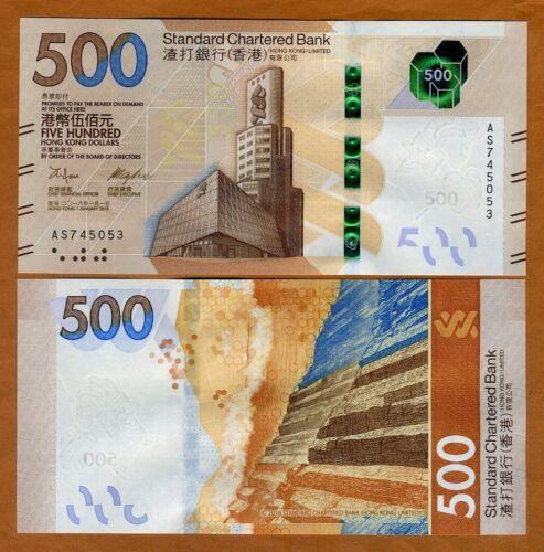 Hong Kong, $1500, 2018, SCB, P-New, UNC > New design