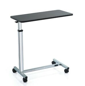 Over Bed or chair table with large height adjustable top