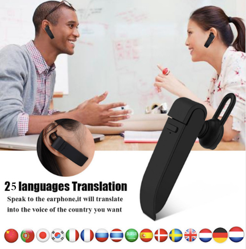 Intelligent 25Language Smart Instant Voice Translator Bluetooth Speech Translate