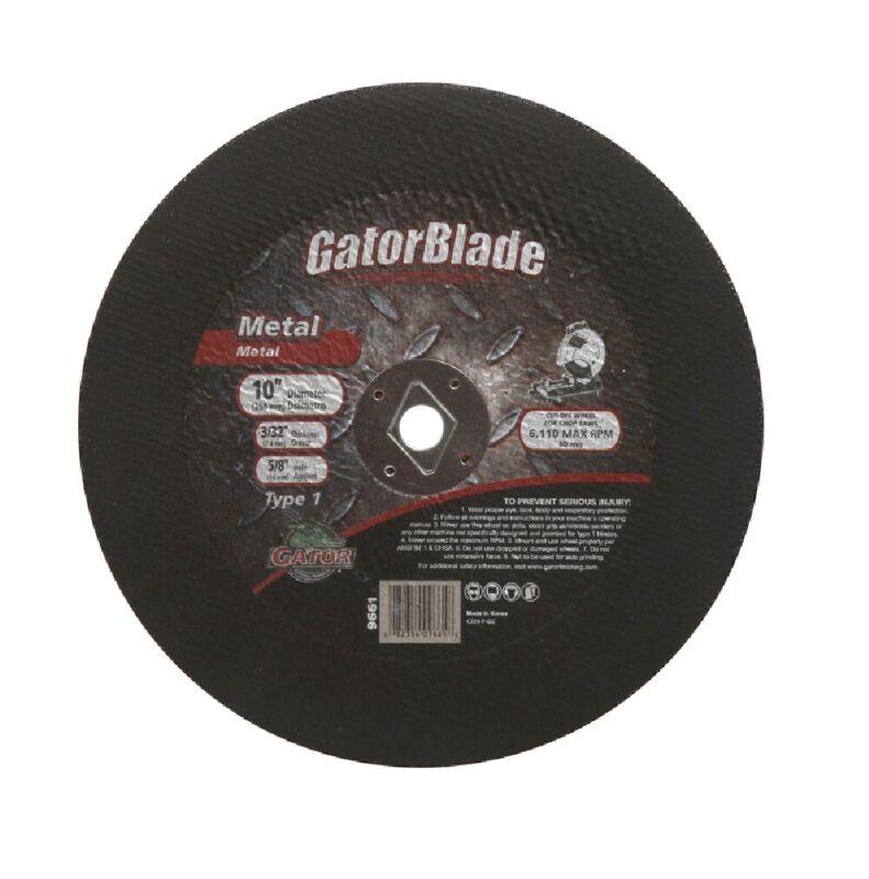 Gator 9661 Metal Cut-Off Blade, 10 Inch