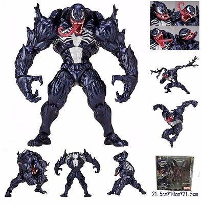 "Marvel Revoltech VENOM Amazing Yamaguchi Series 003 6"" Action Figure A100B"