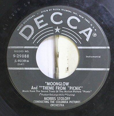 Soundtrack Picknick 45 Columbia Bilder Orchestra - Moonglow / von