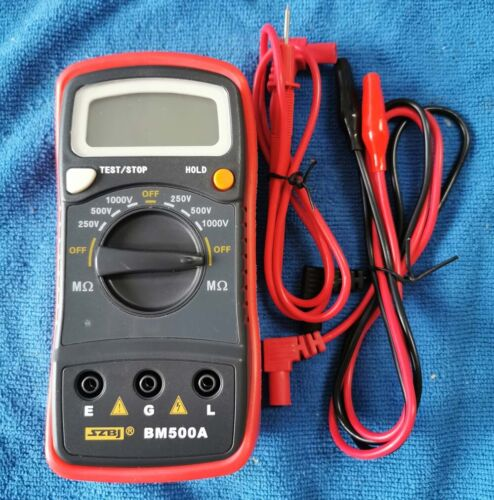 Resistance Tester BM500A 1000V 1999M Digital Insulation Meter Megohmmeter Megger