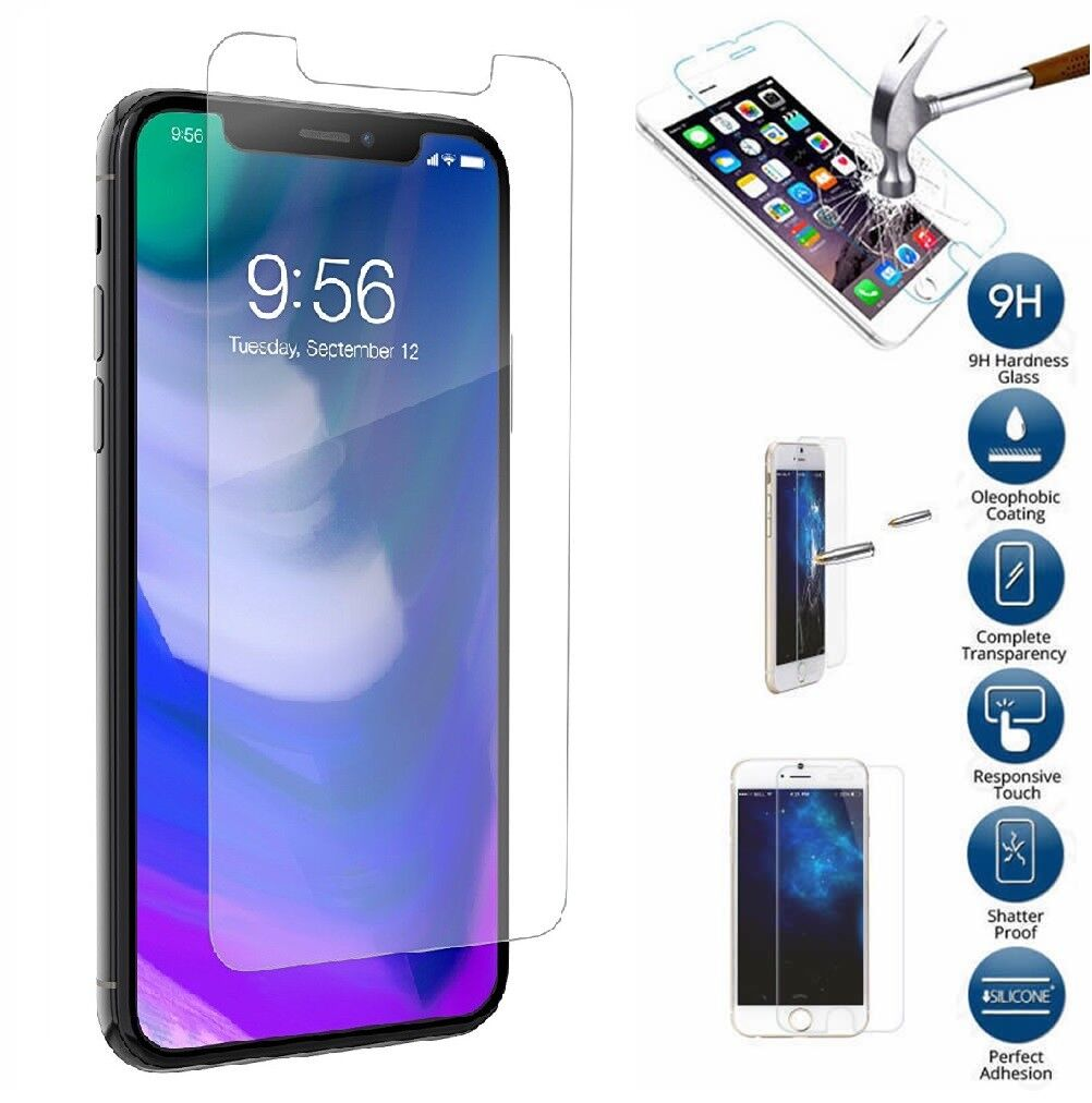 Retail Package Tempered Glass Screen Protector for iPhone SE2 2nd 2020 Pro LOT