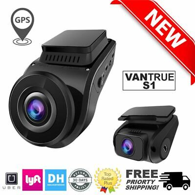 Vantrue S1 Dual 1080P FHD Dash Cam Front and Rear Dash Cam 2pcs GPS Night Vision
