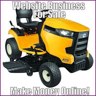 Lawn Tractors Website Earn 322.44 A Salefree Domainfree Hostingfree Traffic