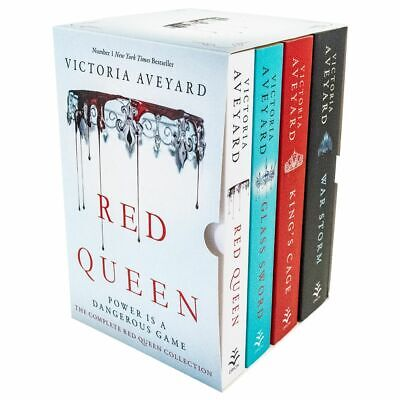 Red Queen Series 4 Books Young Adult Collection Paperback By Victoria Aveyard
