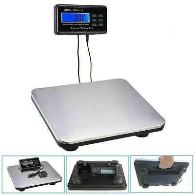 660lbs X 0.1lb Digital Backlit Lcd Display Floor Platform Shipping Postal Scale