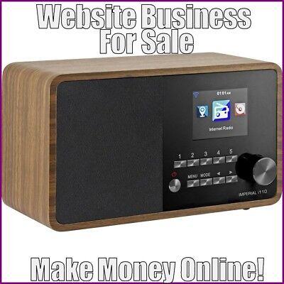 Fully Stocked Internet Radios Website Businessfree Domainfree Hostingtraffic