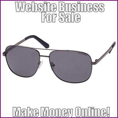 SUNGLASSES Website Earn $50.00 A SALE|FREE Domain|FREE Hosting|FREE (Host Sunglasses)