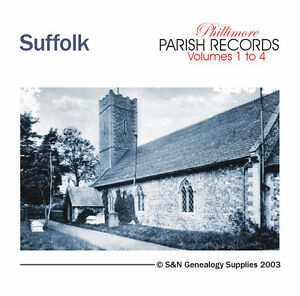 Suffolk Parish Registers - Complete Phillimore Marriage Records
