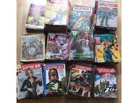 2000ADs / Judge Dredd Megazines / etc for sale